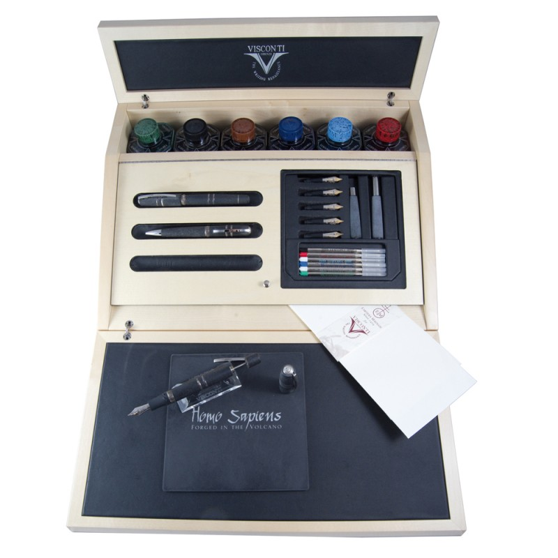 VISCONTI SET CALLIGRAFICO HOMO SAPIENS IN EDIZIONE LIMITATA