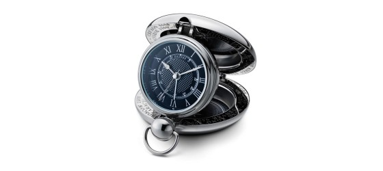 DALVEY VOYAGER CLOCK NERO