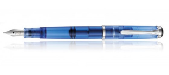 PELIKAN CLASSIC M205 DEMONSTRATOR TRANSPARENT BLUE