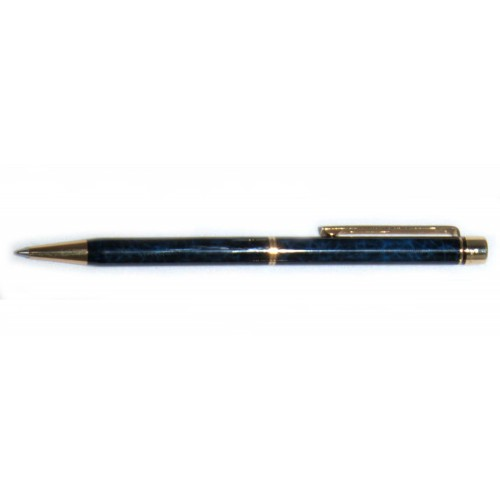 SHEAFFER TARGA PENNA A SFERA IN LACCA BLU SCREZIATA