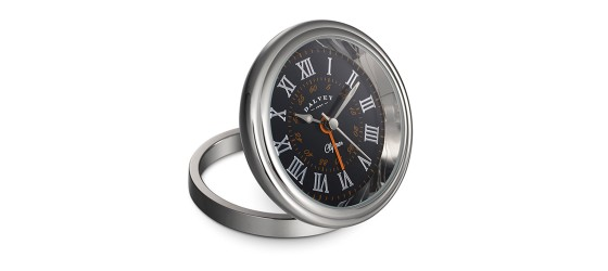 DALVEY CLIPPER CLOCK BLACK/ ORANGE