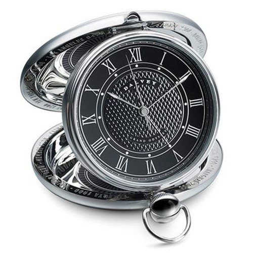 DALVEY OROLOGIO GRAND ODYSSEY CLOCK NERO