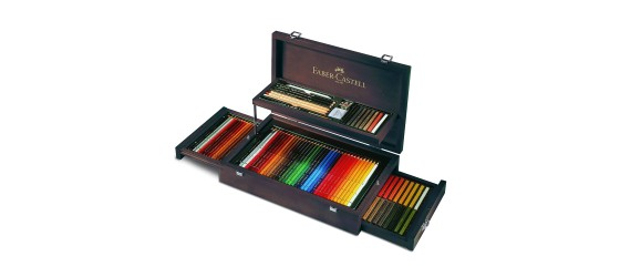FABER-CASTELL VALIGETTA ART&GRAPHIC PER ARTISTI IN LEGNO COLLECTION
