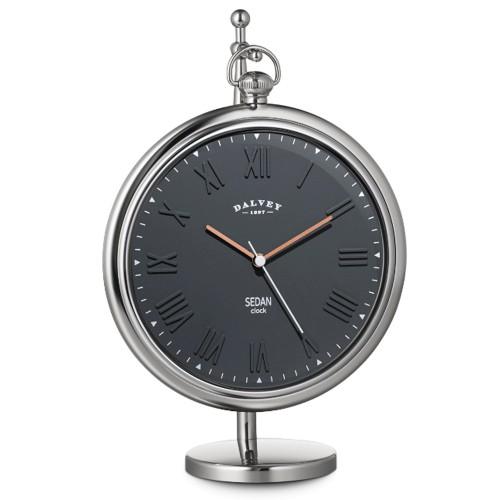 DALVEY OROLOGIO SEDAN CLOCK GRIGIO