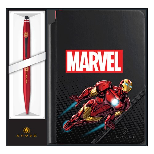 CROSS MARVEL TECH 2 IRON MAN CON BLOCCO NOTES