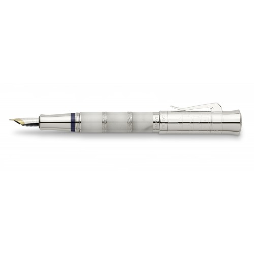 GRAF VON FABER-CASTELL PEN OF THE YEAR 2018 IMPERIUM ROMANUM PLATINUM EDITION FOUNTAIN PEN ON RESERVATION