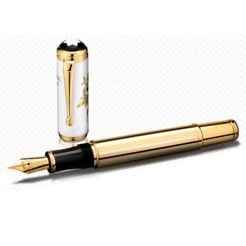 MONTBLANC MARQUISE DE POMPADOUR LIMITED EDITION 4810 FOUNTAIN PEN