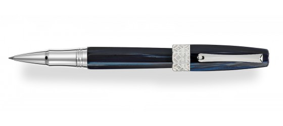 MONTEGRAPPA EXTRA OTTO BUTTERFLY BLUE ROLLERBALL