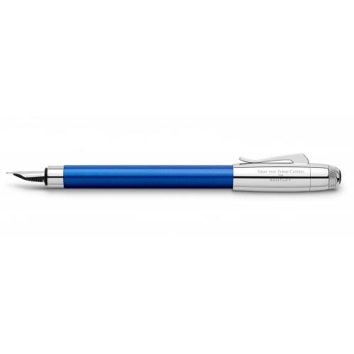 GRAF VON FABER-CASTELL BENTLEY SEQUIN BLUE FOUNTAIN PEN