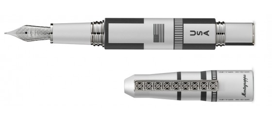 MONTEGRAPPA MOON LANDING 50th ANNIVERSARY FOUNTAIN PEN STEEL COMING SOON