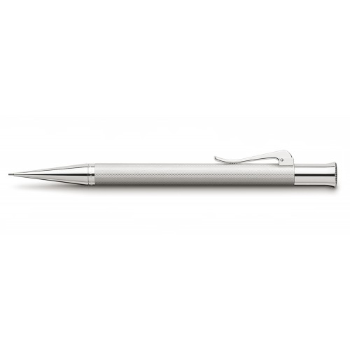 GRAF VON FABER-CASTELL RHODIUM GUILLOCHE MECHANICAL PENCIL 0,7 mm
