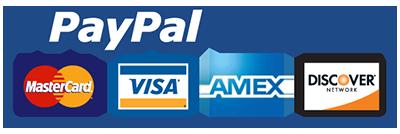 Logo PayPal e Carte di credito