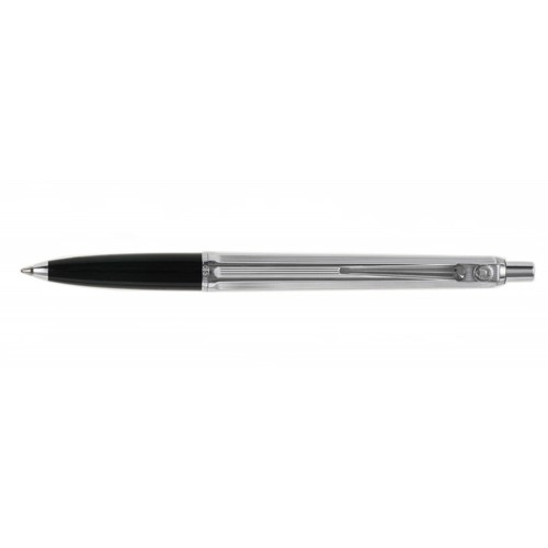 BALLOGRAF EPOCA CHROME BLACK BALLPOINT PEN