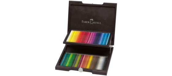FABER-CASTELL VALIGETTA ART&GRAPHIC IN LEGNO 72 MATITE COLORATE POLYCHROMOS