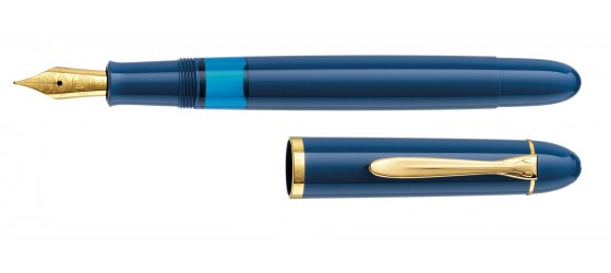 PELIKAN M120 ICONIC BLUE FOUNTAIN PEN AVAILABLE MARCH