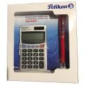 PELIKAN JAZZ SET BALLPOINT PEN / ELECTRONIC CALCULATOR