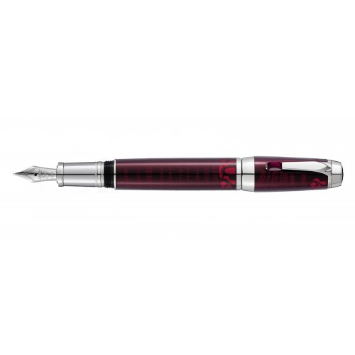 MONTBLANC BOHÈME PASO DOBLE ROUGE FOUNTAIN PEN
