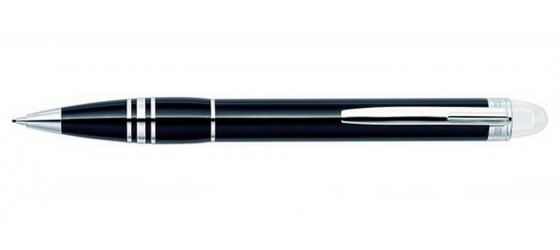 MONTBLANC STARWALKER PLATINUM RESIN MECHANICAL PENCIL 0,7MM