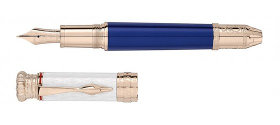 MONTBLANC LUDWIG II PATRON OF ART LIMITED EDITION 4810 FOUNTAIN PEN