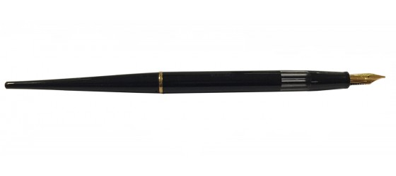 OMAS FOUNTAIN PEN BLACK FROM TABLE