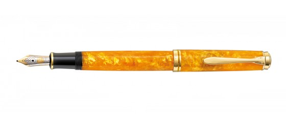 PELIKAN M600 SOUVERÄN VIBRANT ORANGE FOUNTAIN PEN AVAILABLE FROM NOVEMBER