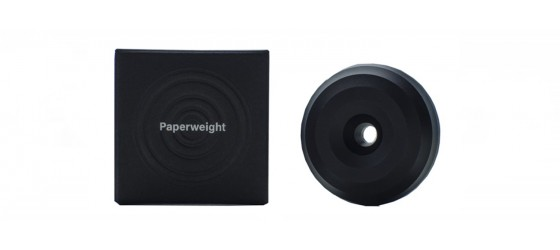 HMM PAPER WEIGHT BLACK