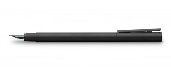 FABER-CASTELL NEO SLIM TOTAL BLACK FOUNTAIN PEN