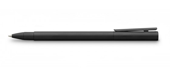 FABER-CASTELL NEO SLIM TOTAL BLACK ROLLERBALL