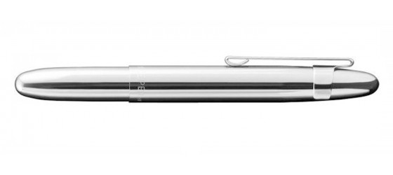FISHER BULLET CHROME SPACE PEN BALLPOINT PEN WHIT CLIP