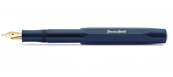 KAWECO CLASSIC SPORT BLUE FOUNTAIN PEN