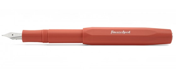 KAWECO CLASSIC SPORT ORANGE FOUNTAIN PEN
