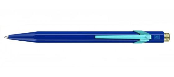 CARAN D'ACHE 849 CLAIM YOUR STYLE BLUE BALLPOINT PEN