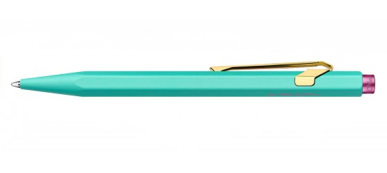 CARAN D'ACHE 849 CLAIM YOUR STYLE TURQUOISE SFERA