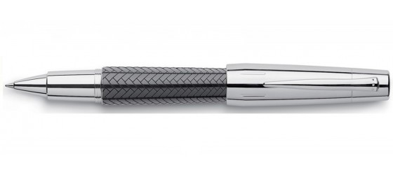 FABER-CASTELL E-MOTION PARQUET BLACK ROLLERBALL