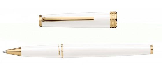 MONTBLANC PIX WHITE & GOLD ROLLER