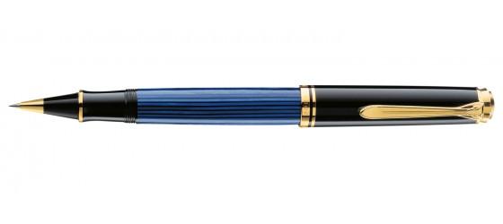 PELIKAN SOUVERAN R600 BLACK-BLUE ROLLERBALL