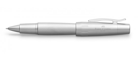 FABER-CASTELL E-MOTION PURE SILVER ROLLERBALL