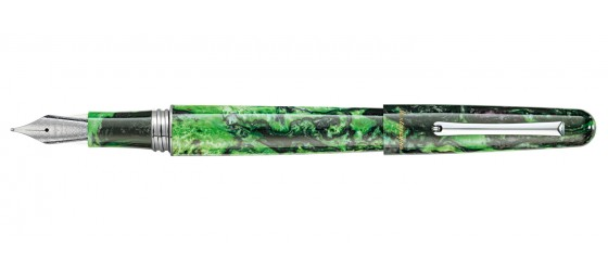 MONTEGRAPPA ELMO 01 FANTASY BLOOMS BLACK STAR CALLA LILY FOUNTAIN PEN COMING SOON