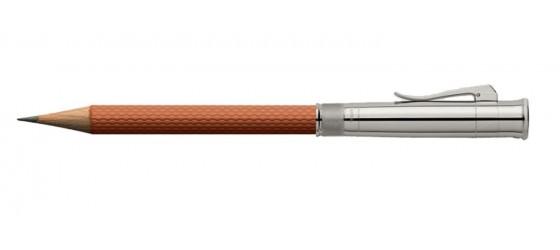 GRAF VON FABER-CASTELL PERFECT PENCIL GUILLOCHE COGNAC