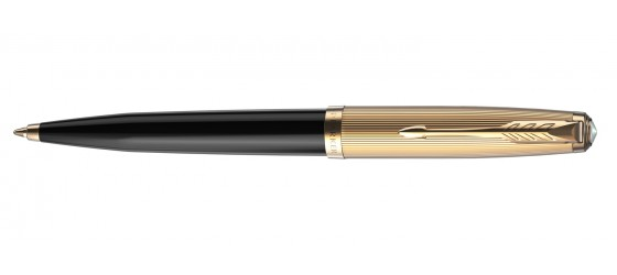 PARKER 51 DELUXE BLACK GT BALLPOINT PEN AVAILABLE FROM OCTOBER
