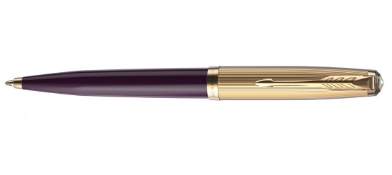 PARKER 51 DELUXE PLUM GT BALLPOINT PEN AVAILABLE FROM OCTOBER
