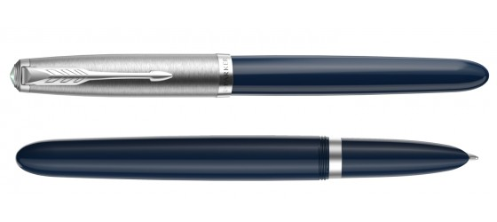 PARKER 51 CORE MIDNIGHT BLUE CT FOUNATIN PEN AVAILABLE FROM OCTOBER