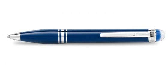 MONTBLANC STARWALKER BLUE PLANET PRECIOUS RESIN BALLPOINT PEN