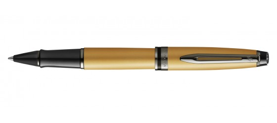 WATERMAN EXPERT METALLIC GOLD LACQUER ROLLERBALL