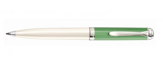 PELIKAN SOUVERÄN 605 GREEN-WHITE BALLPOINT PEN Available from July 2021